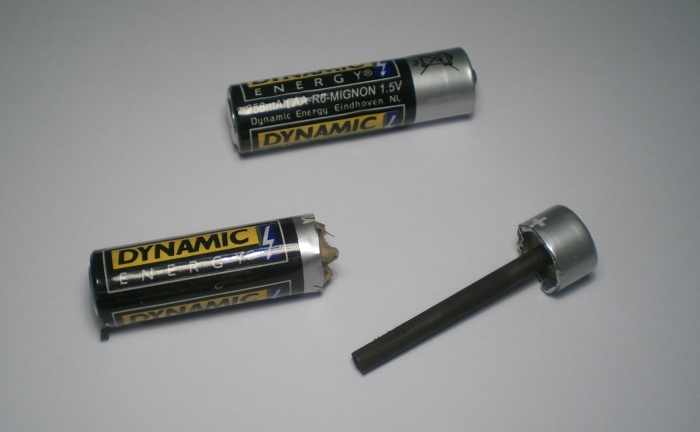 zinc carbon batteries