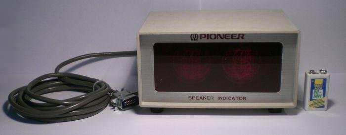 The Speaker Indicator from PIONEER™