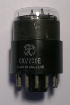 The G10/200E in state of rest