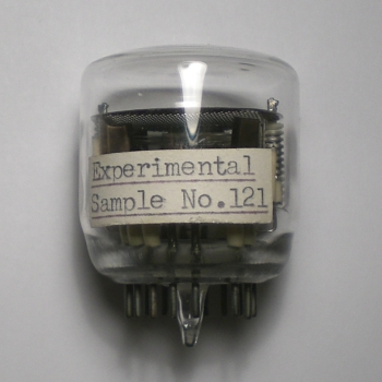 The Experimental Sample No.121 in state of rest
