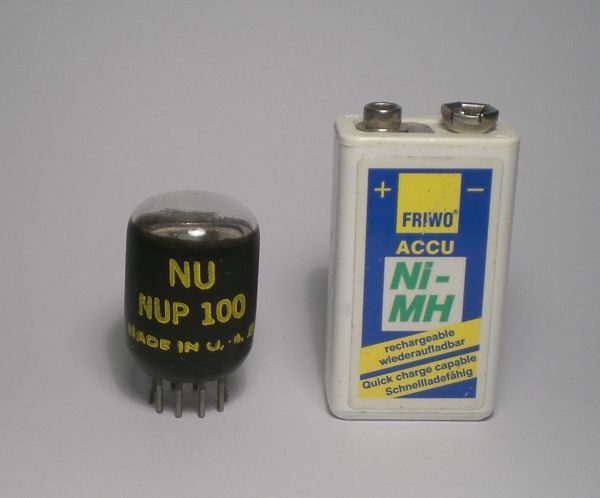 The NUP100 in size comparison