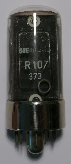 The R107 in state of rest